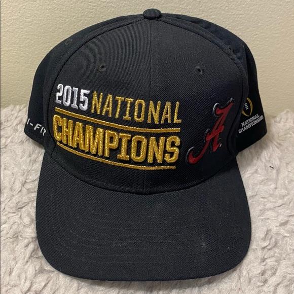 Nike Alabama Football 2015 National Champs Hat